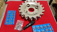 MFPN45200R18T KYOCERA 200MM 18 TOOTH MILLING CUTTER W/20 INSERTS KIT