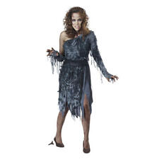 NWT TOTALLY GHOUL SEXY ZOMBIE LADY DELUXE ADULT COSTUME DRESS  THE WALKING DEAD