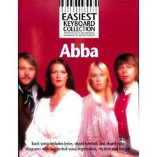 Easiest Keyboard Collection: Abba. Für Melodielinie, Text & Akkorde - (Noten)