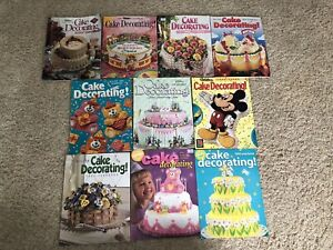 HUGE Lot of 10 Wilton Cake Decorating Yearbooks all 90s years 1990-1999 weddings