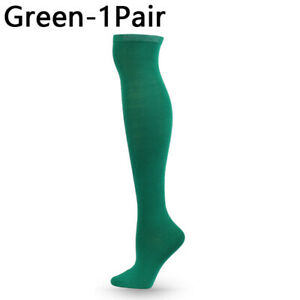 Over the Knee Long Sock Candy Color Thigh High Socks Women  Stocking Soft Socks