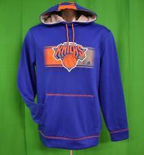 adidas NBA Mens New York Knicks Basketball Hoodie NWT $75 L