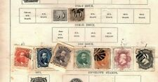 Brazil 1866 23-28 used 1 1884 and 2 british guiana see scans for faults (mb10