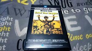 ENTER THE DRAGON (Bruce Lee) Warner VHS big box WHV  PEV1006
