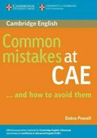 Common Mistakes At CAE...and How To Avoid Them, Paperback by Powell, Debra, B...