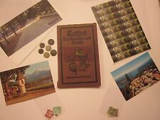 VIENNA ANTIQUES ALFRED RETHEL COINS STAMPS CARD MAGNET 34 SOUVENIRS  #9