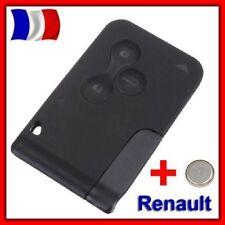 COQUE PLIP CLE CARTE RENAULT MEGANE II ET SCENIC 2 CLIO 3 BOUTONS +Lame +Pile
