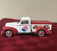 Pepsi Cola Vintage 1940 Ford Truck Diecast Red & White