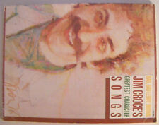 JIM CROCE Bad Bad Leroy Brown - Greatest Character Songs - Sheet Music Book
