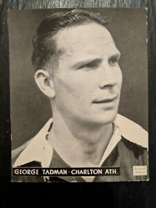 "Charlton Athletic - George Tadman - Topical Times ""Great Players"" - 1938"
