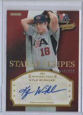 2013 USA Champions Baseball STARS & STRIPES Kyle Winkler AUTOGRAPH 574/700