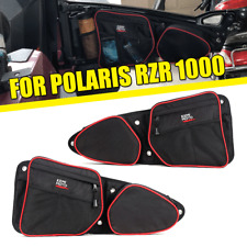 2pcs UTV Passenger Driver Side Storage Door Bags for Polaris XP 1000 2014-2019