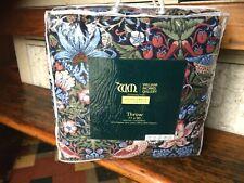 William Morris Strawberry Thief Throw Quilt Bedspread Large 230cm*195cm New