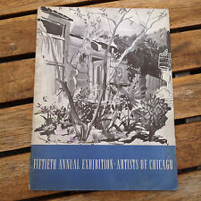 Fiftieth Annual Exhibition - Artists of Chicago 1946 Catalog Art Institute