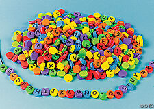 Fabulous Fun Foam Abc Beads Colorful 75 piece packs