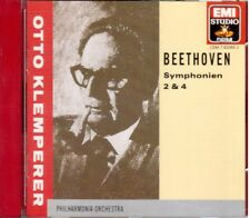 Beethoven: Sinfonie N.2 &4 / Otto Klemperer, Philharmonia - CD