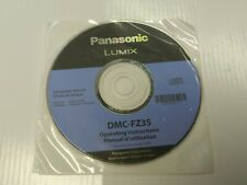 New - Genuine Panasonic VFF0520-J Disk with Manual User Guide for DMC-FZ35