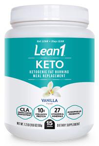 (new!) Lean1 KETO (15-serving) vanilla by Nutrition53