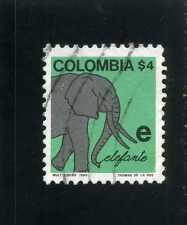 abecedario,- E> ELEFANTE,-  COLOMBIA >> ''APRENDA A ESCRIBIR''   1980