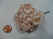 Made in Japan 1 doz 1950/'s Vintage Brown Fuzzy Daisy Stamens