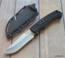 SOG FIXED BLADE FIELD KNIFE HARD MOLDED SHEATH WITH CUTTING CORD GROOVE FEATURES