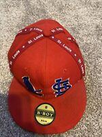 St. Louid Cardinals SIZE 8 Hat