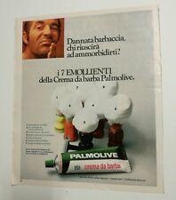 Pubblicità 1972 CREMA DA BARBA PALMOLIVE advertising werbung publicité reklame