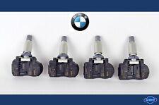 4x Ori BMW 1er 2er 3er X5 X6 RDKS Reifendrucksensor Reifendruckkontrolle 6881891