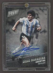 2017 Panini Black Friday Soccer Diego Maradona Signed AUTO Argentina