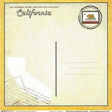 Scrapbook Customs - California Postcard Scrapbooking Paper - 36173