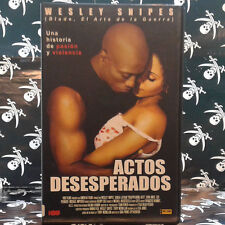ACTOS DESESPERADOS (Gina Prince-Bythewood) VHS . Sanaa Lathan,  Wesley Snipes,