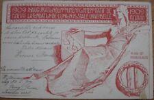 1909 Linck-Signed AD Postcard-Union Postale Universelle