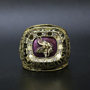 Bud Grant - 1974 Minnesota Vikings NFC Championship Ring with Display Box