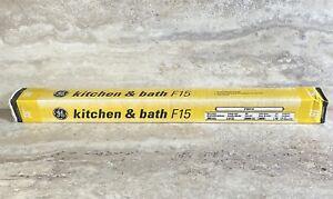 GE 18-inch F15 T12 Warm White Kitchen & Bath Fluorescent Light Bulb 15-Watt