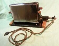 Vintage Toaster~Side Opening , Works!