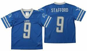 Outerstuff NFL Youth Detriot Lions Matthew Stafford #9 Team Color Player Jersey