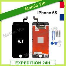 ECRAN VITRE TACTILE + LCD RETINA SUR CHASSIS POUR IPHONE 6S NOIR + OUTILS + FILM