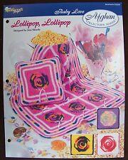 Needlecraft Shop Afghan Collector's Series Baby Love Crochet Lollipop, Lollipop