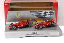 1:43 Hot Wheels Ferrari F2008 Constructor´s Champions NEW bei PREMIUM-MODELCARS