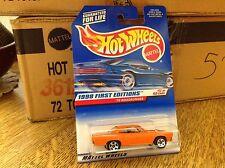 Hot Wheels Hotwheels 1998 First Edition 70 Roadrunner  17/40