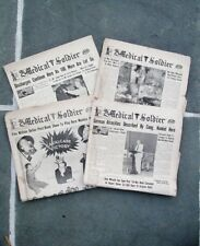 """1945 CARLISLE BARRICKS PA: WWII ARMY Soldier News """"The Medical Soldier"""" Victory"""