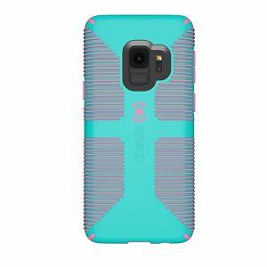 Speck Candyshell Grip Case Samsung Galaxy S9 Caribbean Blue Bubblegum Pink