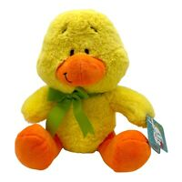 """Soft Toy Easter Yellow Duck Plush Cuddly Stuffed Easter Friends Large 11"""" Tall"""