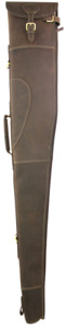 Berkeley Gun Slip Case, Water Repellent Oiled Brown Leather, Gun Case, Hunting