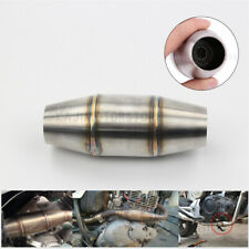 35mm Motorcycle Exhaust Muffler Pipe Tube Expansion Chamber For Dirt Pit Bike