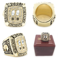1984 San Francisco 49ers Super Bowl Championship Ring #MONTANA Replica Size 8-13