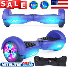 """Hoverboard Flashing Wheel Hover Board 6.5"""" Self Balancing Scooter Ul Certified"""