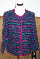 Melissa Petites Multi-color Jacket Blazer Size 14 NWT New