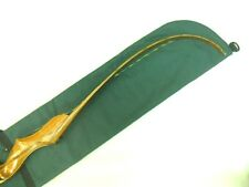 Traditional Archery UNSTRUNG RECURVE BOW CASE Forest Green / Charcoal Gray  66""