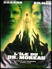 L'ILE DU DOCTEUR MOREAU Affiche Cinéma / Movie Poster MARLON BRANDO VAL KILMER